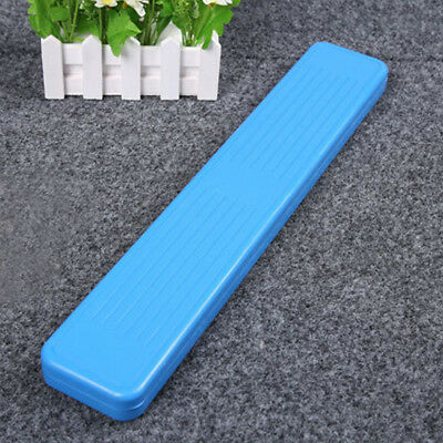 Portable Plastic Storage Tool Float Box Lure Case Fishing Tackle Container Blue