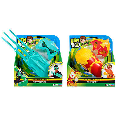 Ben 10 Transform-N-Battle Role Play Set Choice of Set NEW (One Supplied)
