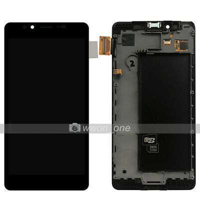 """5.2"""" New Microsoft Lumia 950 AMOLED LCD Display Touch Digitizer Assembly W/Frame"""
