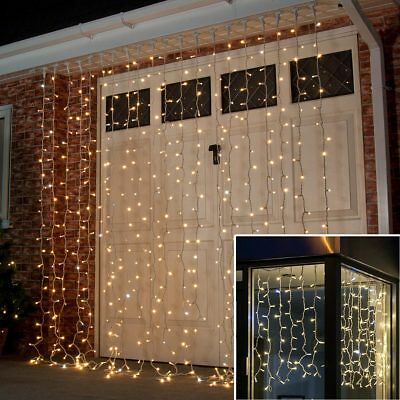 CONNECTABLE ConnectPro OUTDOOR GARDEN CHRISTMAS CURTAIN LED FAIRY STRING LIGHTS