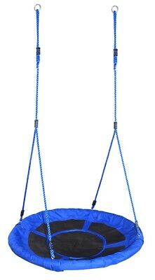 100cm Kids Spider Web Canvas Nest SWING, Special Needs + Straps/Clips ~ S04-418