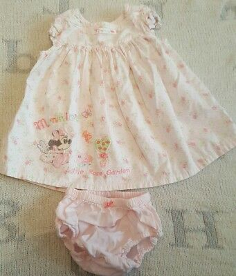 Disney store baby girls minnie mouse dress 0-3mths