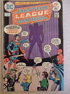 Justice League Of America #117 (1975) FN