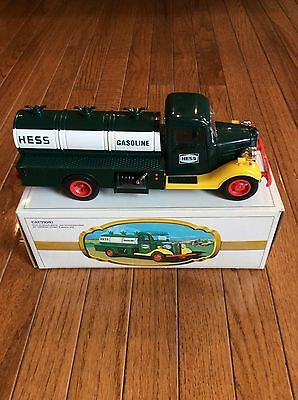 1983 First Hess Truck Black Switch Hard to Find-Excellent/Mint condition in box