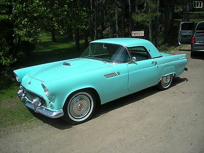 1955 Ford Thunderbird  1955 ford thunderbird