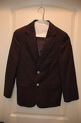 Ralph Lauren Chaps Boy's Blue Blazer Size 10R  Excellent Condition!