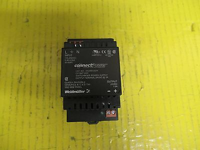 WEIDMULLER CONNECT POWER 992889 0024 POWER SUPPLY 24Vdc@1A 9928890024
