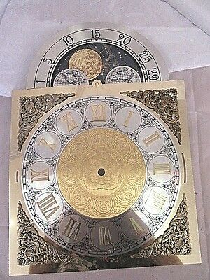 Longcase Clock Dial with Moon Phase 2