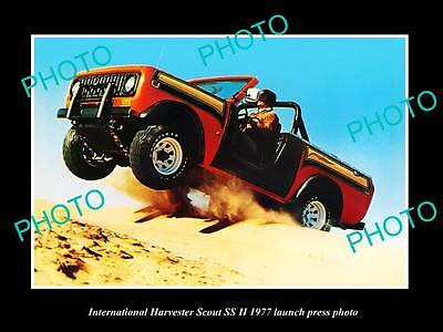 Old Large Historic Photo Of 1977 International Harvester Scout Ss Press Photo 2