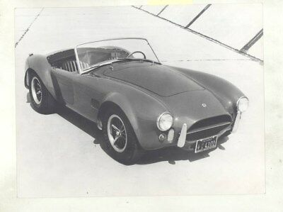 1966 1967 ? AC Cobra 427 Carroll Shelby ORIGINAL Factory Photograph wy2549