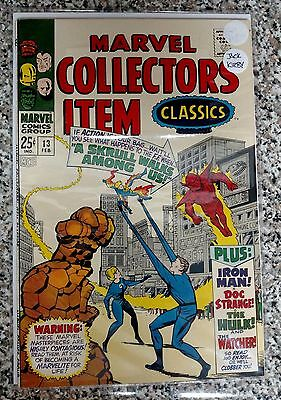 1968 Marvel Collectors' Item Classics #13 signed by Jack Kirby  Free Shipping