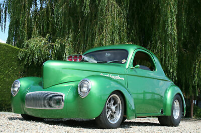 1941 Blown Willys Coupe Hot Rod. Superb, Show Winning Car
