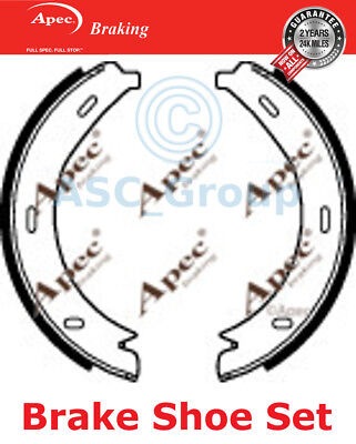 Apec Braking Replacement 160mm x 20mm Drum Brake Shoes Set SHU622