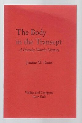 """JEANNE M. DAMS - """"The Body in the Transept"""" - Special Preview of Author's 1st"""