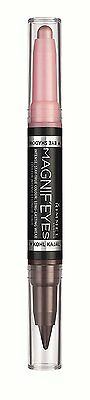 RIMMEL -Magnif'Eyes Double Ended Shadow and Eye Liner Pink/Purple Rain