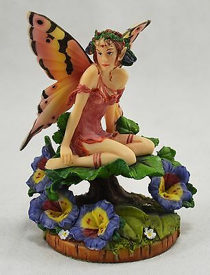 Boxed /& Signed Fairy//Pixie Figure//Statue December Glow by Linda Ravenscroft NEW!