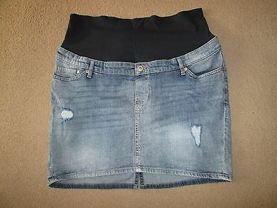 Lovely Size 18-20 Denim H&m Maternityjeans See Pics!!