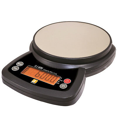 Portable Kitchen Scale Jennings CJ-600 Top Loader 600g x 0.1g NEW