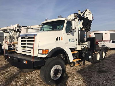 2004 Effer crane on '98 LT9511 with radio remote + winch GR8 ROOFING-TREES-FDTNS