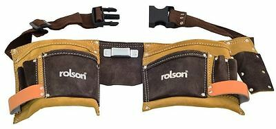 Rolson 68628 2 T Double Tool Pouch New