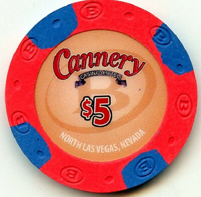 $5 Cannery Las Vegas -- NEW RELEASE -- Casino Chip
