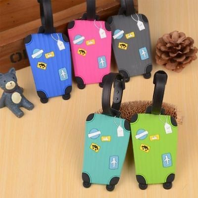 Korean ID Label Baggage Bag Travel Name Suitcase Silicone Luggage Tags Address