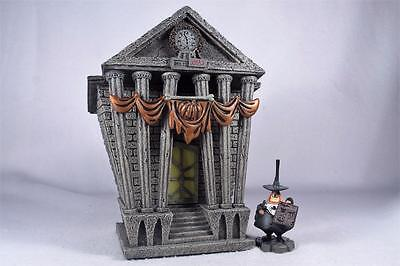 Dept 56-'Halloween Town City Hall' Nightmare Before Christmas #4058118 New In Bx