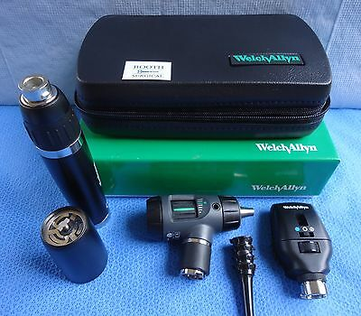 """Welch Allyn Diagnostic Set #97200-Ms  Lithium-Ion  """" Smart Set"""" ---New In Box!"""