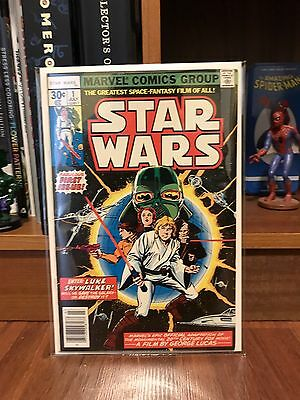 Marvel Comics Group Star Wars Issue #1 Comic Normal Print 8.5-9.0 CGC Worthy!