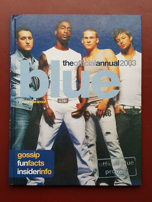 Blue The Official Annual 2003 Hardback Book