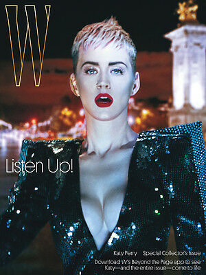 Katy Perry W Magazine *new* 2017 LTD Edition cover