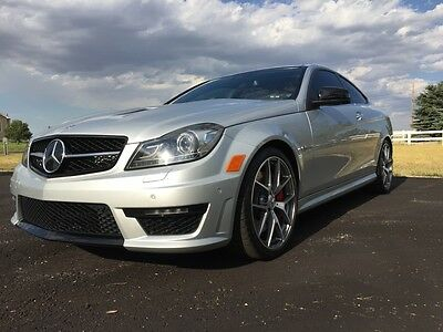 2015 Mercedes-Benz C-Class C63 AMG 507 Edition 2015 MERCEDES-BENZ C63 AMG 507 EDITION: Last of the Non-Turbo, Hand-Crafted V-8s