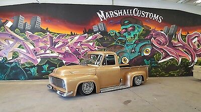 1953 Ford F-100  1953 Ford F100 , Chevy, Truck, pickup, bagged, classic, custom, 54, 55, 56