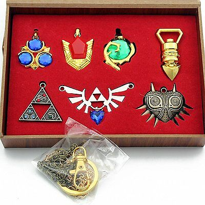 The Legend of Zelda Twilight Princess Majora's Mask Keychain/necklace Collection