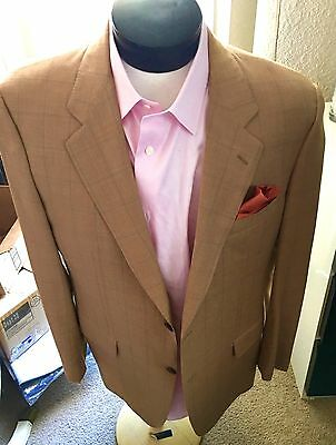Ravazzolo Men's Virgin Wool Sport Coat Size 46L