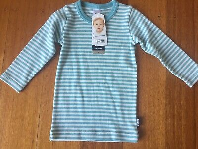 Baby bonds long sleeve stretchies tee size 00 RRP $16.95 BNWT