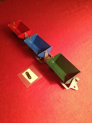 New AF Repro Tipple Cars & Towbar For American Flyer Trains S Gauge Made In USA