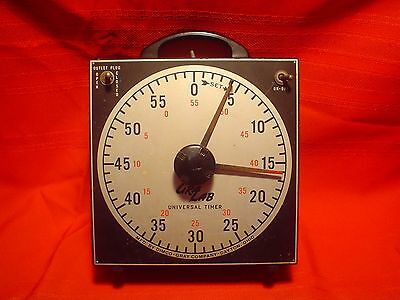 Vintage Working Gralab Darkroom Photography #171 Universal Timer Dimco Gray Co.