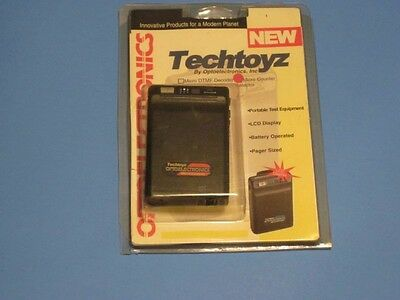 Optoelectronics Techtoyz Micro Frequency Counter  With Optional Tmc-100 Antenna