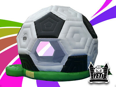 Brand New Commercial Quality Super Soccer Ball Jumping Castle - 5m x 4m x 3.5m