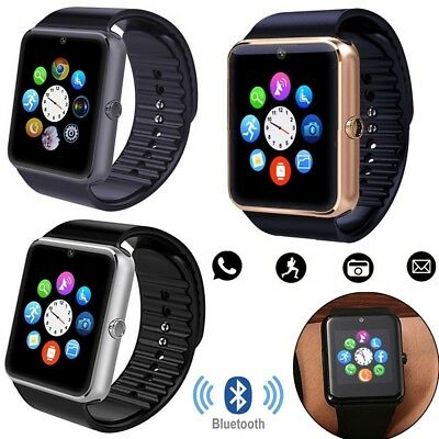 NFC Bluetooth Wrist Smart Watch Unlocked Phone For Android Samsung S8 S7 Note 5
