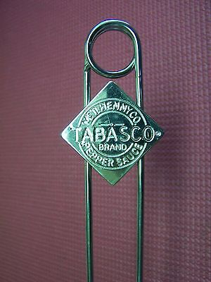 TABASCO TABLE DISPLAY RACK FOR CONDIMENTS   McILHENNY CO.   NEW