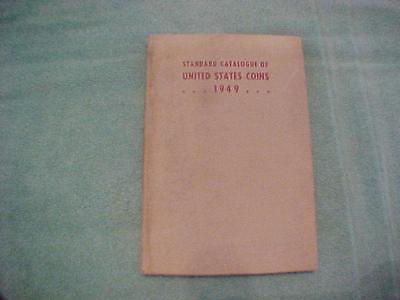 Standard Catalogue Of United States Coins 1949   228 Pages Used