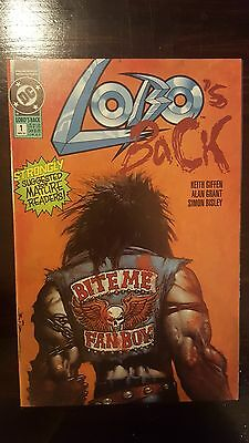 LOBO's Back #1 (May 1992, DC) MOVIE IN THE WORKS!! NM/M CONDITION