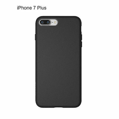 For iPhone 7 /iPhone 7 plus Soft Silicone Cover Case (Black)