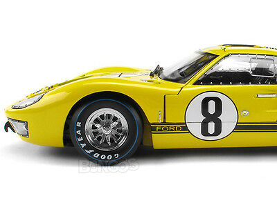 """1966 FORD GT-40 MKII (GT40) #8 """"Le Mans - Whitmore/Gardner"""" 1:18 Scale Model"""