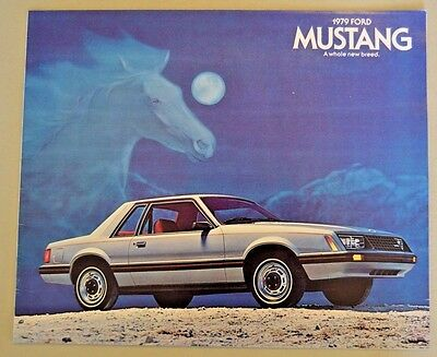 1979 Ford Mustang Car Dealerships Sales Brochure, Printed July 1978,  20 Pages