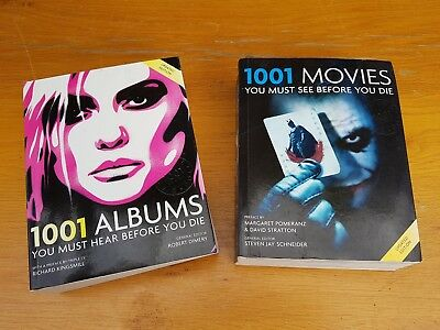 1001 movies and 1001 albums book entertainment