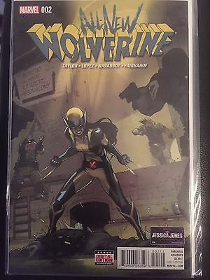 ALL-NEW WOLVERINE #2 NM 1st Print X-23 Cover Lopez Logan Marvel