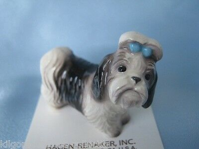 "Hagen Renaker Dog Shih Tzu ""Mandy""  Figurine Miniature 2076 Ceramic NEW"
